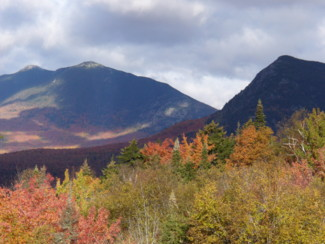 western Maine mountains